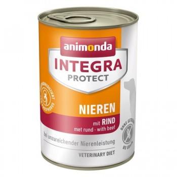 Animonda / Анимонда Консервы Integra для взрослых собак при почечной недостаточности с говядиной (Renal), 400 гр