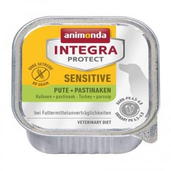 Animonda / Анимонда Консервы Integra для взрослых собак при пищевой аллергии с индейкой и пастернаком (Sensitive), 150 гр