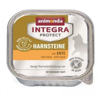 Animonda / Анимонда Консервы Integra для взрослых кошек при МКБ с уткой (Urinary), 100 гр