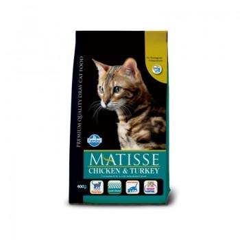 Farmina / Фармина MATISSE Adult сух.д/кошек с Курицей и Индейкой 20 кг