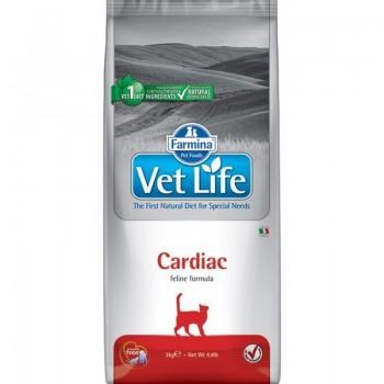 Farmina / Фармина Vet Life CARDIAC корм д/кошек поддержания работы сердца при хронической сердечной недостаточности 0,4 кг