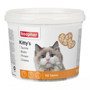 Beaphar / Беафар Витаминиз. лакомство «Kitty`s MIX» микс д/кошек, 750 шт