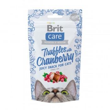 Brit / Брит Care лакомство д/кошек Truffles Cranberry Подушечки с клюквой, 50 гр
