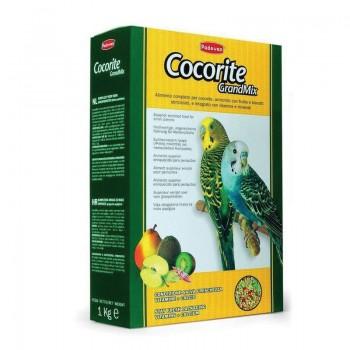 Padovan / Падован Grandmix Cocorite корм для волнистых попугаев основной, 1 кг