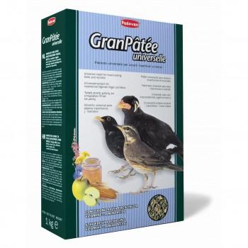 Padovan / Падован Granpatee universelle корм комплексный универсальный для насекомоядных птиц, 1 кг