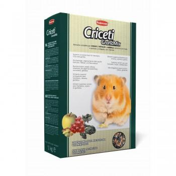 Padovan / Падован Grandmix Criceti корм для хомяков и мышей комплексный основной, 1 кг