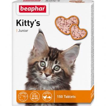 Beaphar / Беафар Витаминиз. лакомство «Kitty`s Junior» д/котят, 150 шт