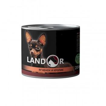 Landor / Ландор влажный корм для взрослых собак мелких пород 0,2 кг
