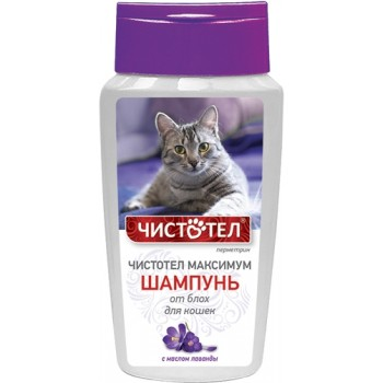 Чистотел C614 Максимум Шампунь д/кошек от блох 180 мл