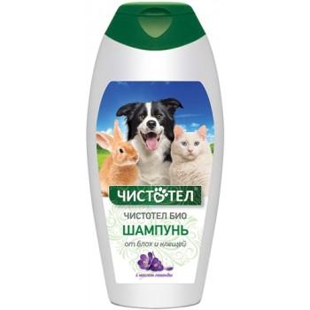 Чистотел C516 БиоШампунь д/собак, кошек, кроликов и грызунов от блох и клещей с маслом лаванды 180 мл