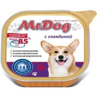 Мистер Дог кон.д/собак с Говядиной 300 гр
