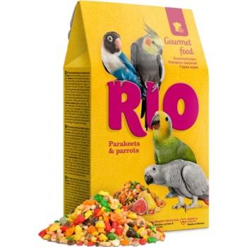 РИО Гурмэ корм для средних и крупных попугаев, 18 кг