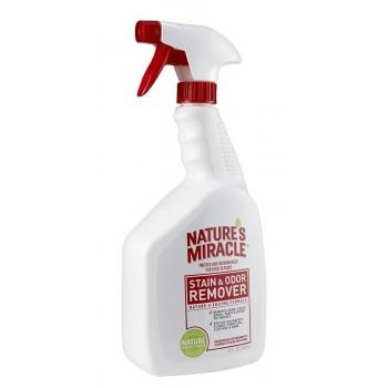 Nature's Miracle Универсальный уничтожитель пятен и запахов Дыня для кошек, спрей NM Cat Stain&Odor Remover Spray Mel, 946 мл