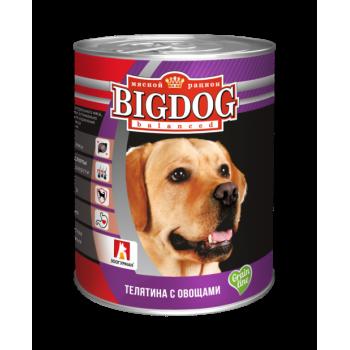 Зоогурман BIG DOG кон.д/собак Телятина с овощами 850 гр