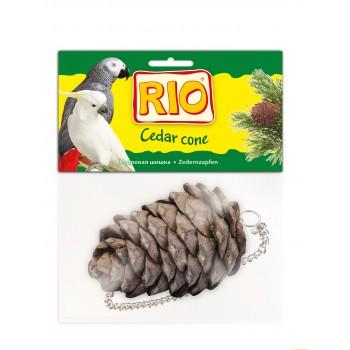 РИО Лакомство-игрушка Кедровая шишка для всех видов птиц