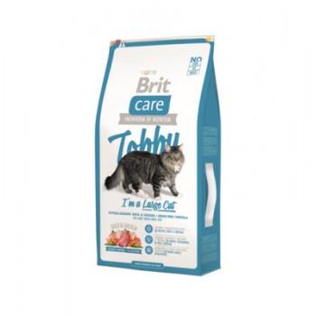 Brit / Брит Сухой корм Care для кошек крупных пород с уткой и курицей, 7 кг