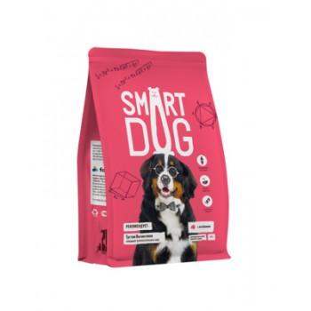 Smart Dog / Смарт Дог для взрослых собак крупных пород с ягненком, 12 кг