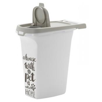 Moderna / Модерна Контейнер для корма средний Pet Wisdom 10 л, серый