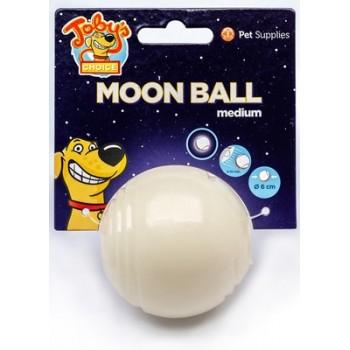 """Светящийся в темноте мяч для развлечений и угощений """"Луна"""", 6,5 см"""