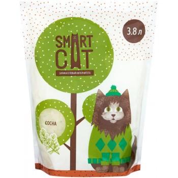 Smart Cat / Смарт Кэт Силикагелевый наполнитель с ароматом сосны, 7,6л