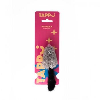 """Tappi / Таппи Игрушка """"Саваж"""" для кошек  мышь из натурального меха норки с хвостом и кошачьей мятой оп."""