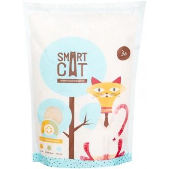 Smart Cat / Смарт Кэт Силикагелевый наполнитель с pH индикатором, 3л