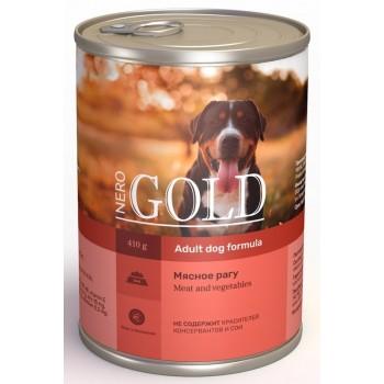 "Nero Gold / Неро Голд консервы для собак ""Мясное рагу"", 415 гр"