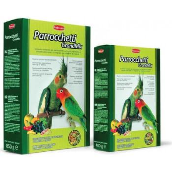 Padovan / Падован Grandmix Parrocchetti корм для средних попугаев основной, 400 гр