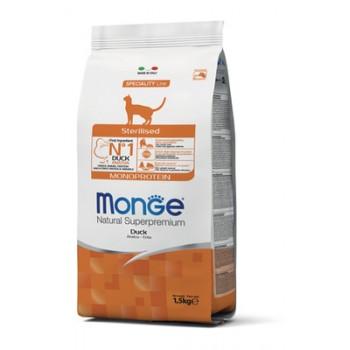 Monge / Монж Cat Monoprotein Sterilised корм с уткой для стерилизованных кошек 10 кг