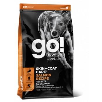 Go! / Гоу! Для Щенков и Собак со свежим Лососем и овсянкой, 1.59 кг