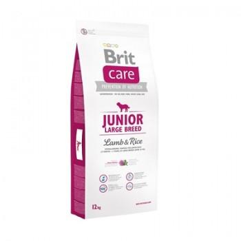 Brit / Брит Сухой корм Care для щенков крупных пород от 25 кг с ягненком и рисом, 12 кг