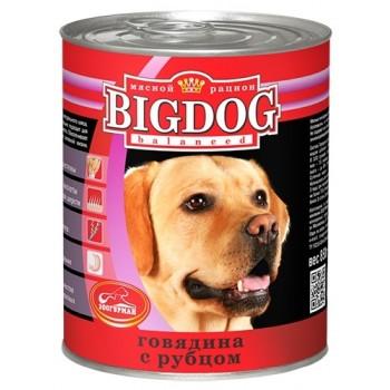 Зоогурман BIG DOG кон.д/собак Говядина с рубцом 850 гр