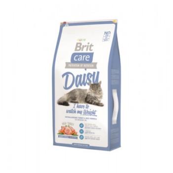 Brit / Брит Сухой корм Care для кошек с избыточным весом и склонных к набору веса с индейкой, 7 кг