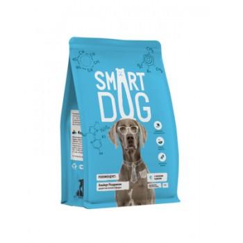 Smart Dog / Смарт Дог для взрослых собак с лососем и рисом, 12 кг
