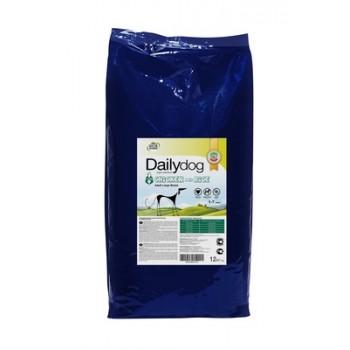 DailyDog / ДейлиДог Для взрослых собак крупных пород с курицей и рисом, 12 кг