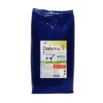 DailyDog / ДейлиДог Для взрослых собак средних и крупных пород с индейкой и ячменем, 12 кг