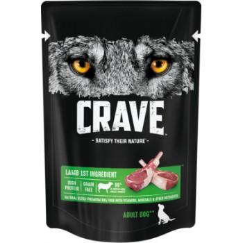 Crave / Крейв полнорационный консервированный корм для взрослых собак всех пород, с ягнёнком, 85 гр
