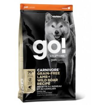 Go! / Гоу! Беззерновой для Собак всех возрастов c Ягненком и мясом Дикого Кабана, 1.59 кг