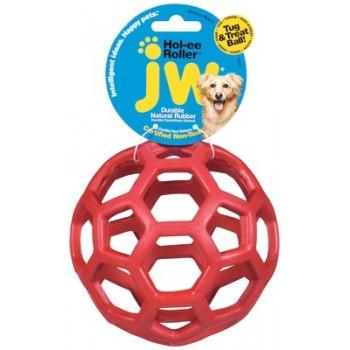 Ажурный резиновый мяч средний, 11,5 см
