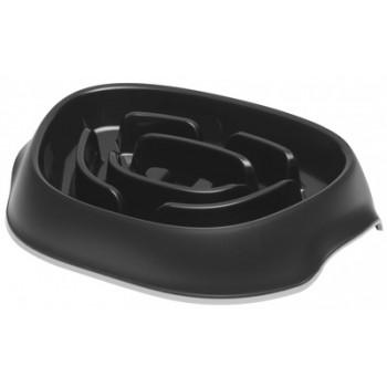 Moderna / Модерна Миска для медленного кормления SloMo 950 мл, черный
