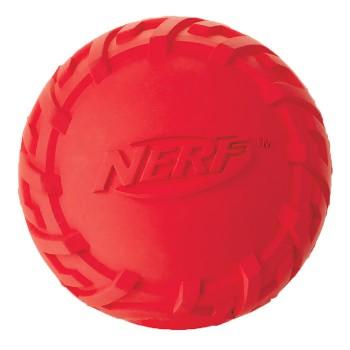 Nerf / Нёрф Игрушка для собак Мяч резиновый пищащий, 7,5 см