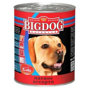 Зоогурман BIG DOG кон.д/собак Мясное ассорти 850 гр