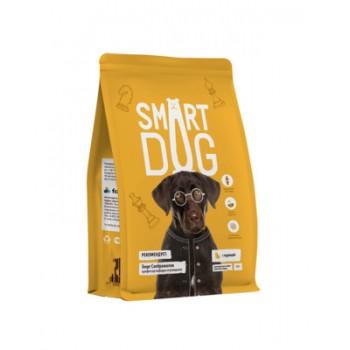 Smart Dog / Смарт Дог для взрослых собак крупных пород с курицей, 12 кг