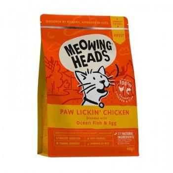 """Barking Heads / Баркинг Хедс для Взрослых кошек с Курицей и рисом """"Куриное наслаждение"""", 8 кг"""