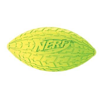 """Nerf / Нёрф Мяч для регби резиновый пищащий, 10 см (серия """"Шина"""")"""