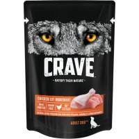 Crave / Крейв полнорационный консервированный корм для взрослых собак всех пород, с курицей, 85 гр