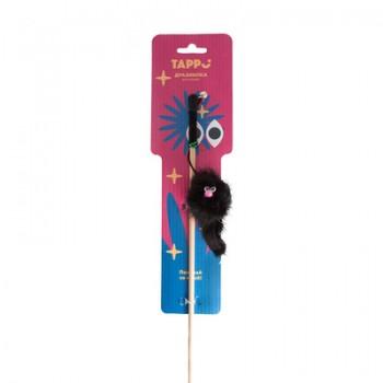 """Tappi / Таппи Игрушка """"Флот"""" дразнилка для кошек зверек из натурального меха норки  на веревке оп."""