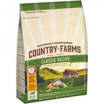 Country Farms/Кантри Фармс Сухой корм для взрослых собак с высоким содержанием курицы, 2.5 кг