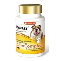 Unitabs / Юнитабс SlimComplex с Q10 для собак 100 таб