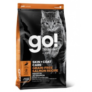 Go! / Гоу! Беззерновой для Котят и Кошек с Лососем, 1.36 кг